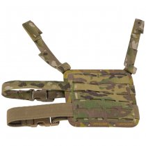 High Speed Gear Laser Cut Drop Leg Platform - Multicam