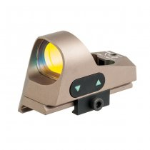 Aim-O Mini Reflex Red Dot Sight - Dark Earth