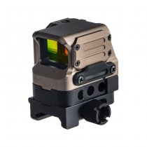Aim-O FC-1 Reflex Red Dot Sight - Dark Earth