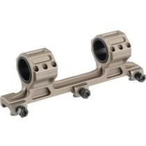 Aim-O GE Long Version Scope Ring Mount - Dark Earth