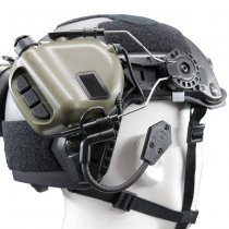 Earmor M32H MOD1 Tactical Hearing Protection Helmet Version Ear-Muff - Foliage Green