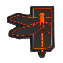 Haley Strategic Dragonfly PVC Patch - Red