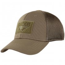 Condor Flex Tactical Mesh Cap - Brown S/M