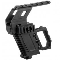 G17 / G18 / G19 Loading Device & Sight Rail - Black