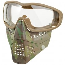Ant Type Clear Lens Mask - Multicam