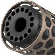 Action Army T10 Hive Sound Suppressor - Dark Earth