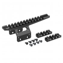 Action Army T10 Front Rail - Black
