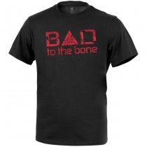 Direct Action T-Shirt Bad to the Bone - Black L