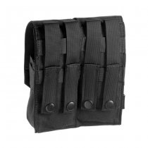 Invader Gear 5.56 2x Double Mag Pouch - Black