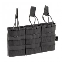 Invader Gear 5.56 Triple Direct Action Mag Pouch - Wolf Grey