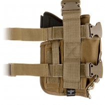 Invader Gear SOF Holster Left - Coyote