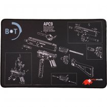 B&T APC9 Exploded View Tech Mat - Small