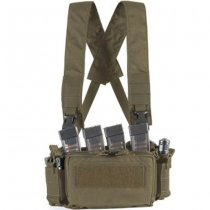 Haley Strategic D3CRM Micro Chest Rig - Ranger Green