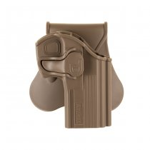 Amomax CZ 75D Compact Paddle Holster RH - Dark Earth