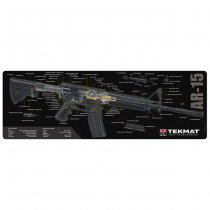 TekMat Cleaning & Repair Mat - AR15 Cut Away