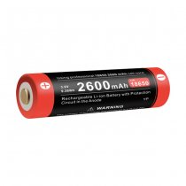 Klarus 18650 Battery 3.7V 2600mAh Micro-USB
