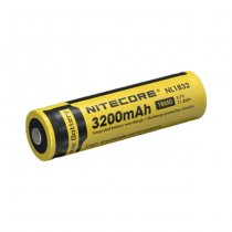 Nitecore 18650 Battery 3.7V 3200mAh