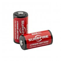 Surefire SF123A 3 Volt Lithium Battery Set