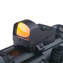 Theta Optics 4x32E Scope & Micro Red Dot Sight - Black