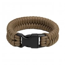 Pitchfork Paracord Bracelet Buckle - Coyote