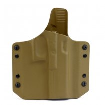 Warrior ARES Kydex Holster Glock 17/19 - Coyote