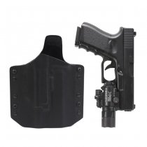 Warrior ARES Kydex Holster Glock 17/19 & X300/X400 - Black
