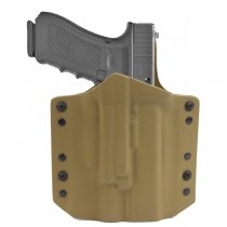 Warrior ARES Kydex Holster Glock 17/19 & X300/X400 - Coyote