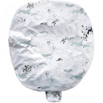Tasmanian Tiger Snow Cover S - 4-Color Snow Forest