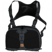 Helikon Chest Pack Numbat - Black / Shadow Grey
