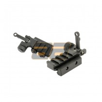 Dboys KAC PDW Metal Rear Sight