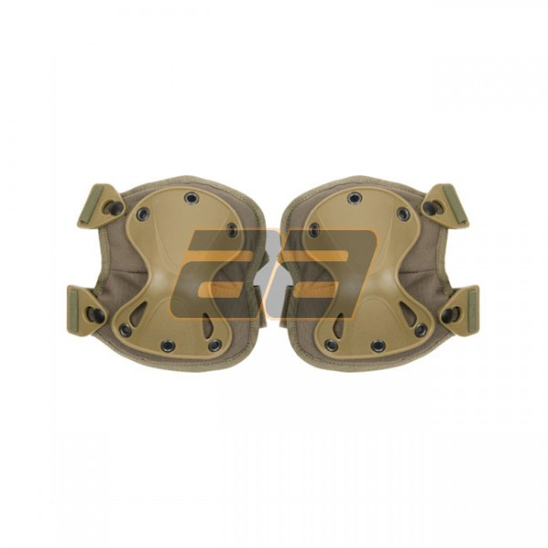 PANTAC X-Force Knee Pads - Ranger Green