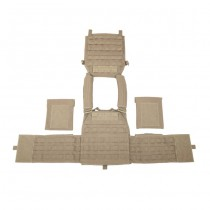 Warrior DCS Plate Carrier Base - Coyote 5