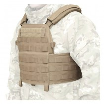 Warrior DCS Plate Carrier Base - Coyote 6