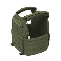 Warrior DCS Plate Carrier Base - Olive - M