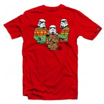 Black Rifle Division Tis the Season T-shirt - Red