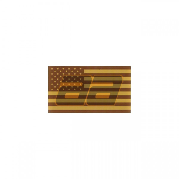 King Arms IFF Flag Small Left - Tan