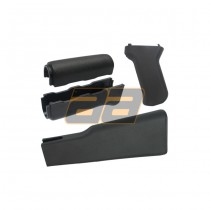 King Arms AK47 Handguard / Grip / Stock - Black