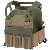 Direct Action Hellcat Low Vis Plate Carrier - Adaptive Green - XL