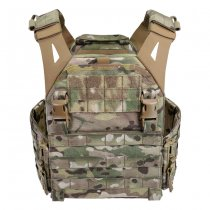 Warrior Low Profile Carrier Solid Sides  - Multicam - M