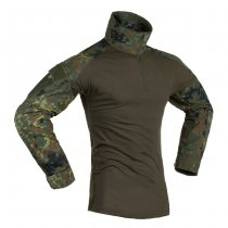 Invader Gear Combat Shirt - Flecktarn - 2XL