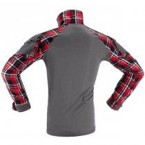 Invader Gear Flannel Combat Shirt - Red - S