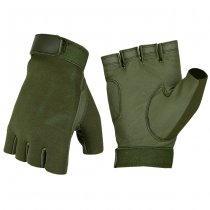 Invader Gear Half Finger Shooting Gloves - OD - L