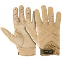 Invader Gear Shooting Gloves - Tan - M