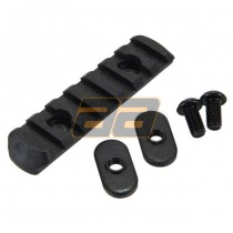 PTS Enhanced Polymer Rail Section - Size L3 / 7 Slots