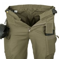 Helikon UTP Urban Tactical Pants PolyCotton Canvas - Jungle Green - XL - Short
