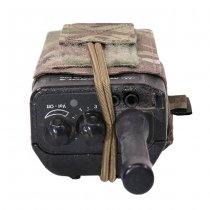 Warrior Laser Cut Adjustable Radio Pouch - Multicam