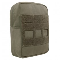 Warrior Laser Cut Small Vertical Utility Pouch - Ranger Green