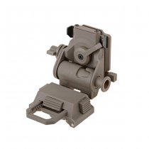 FMA L4G24 Plastic Mount - Dark Earth