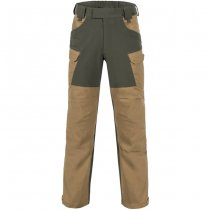 Helikon Hybrid Outback Pants Duracanvas - Ash Grey / Black A - 2XL - Long