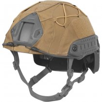 Direct Action Fast Helmet Cover - Coyote Brown